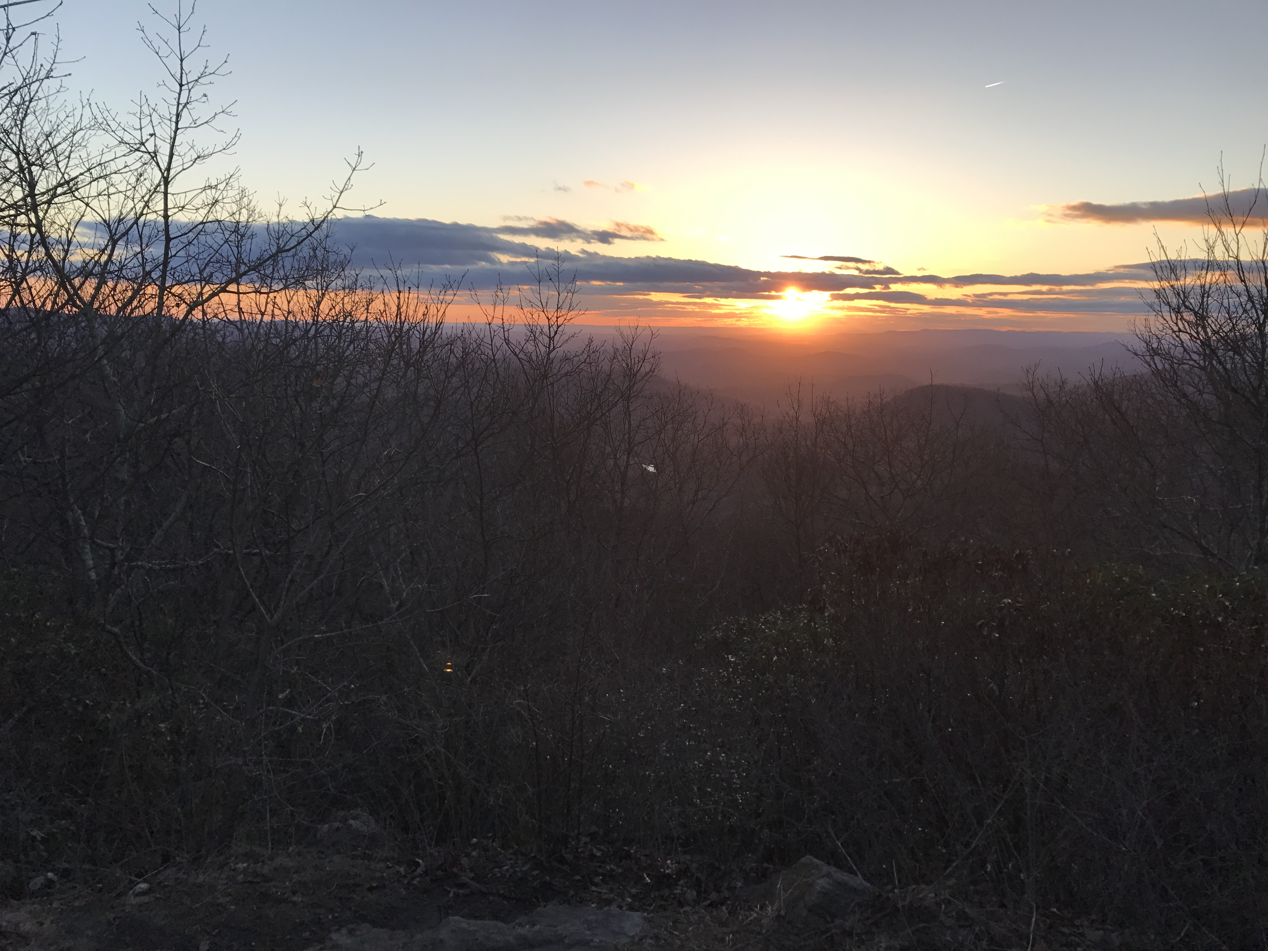 Amicalola & Springer Mountain: Day 1