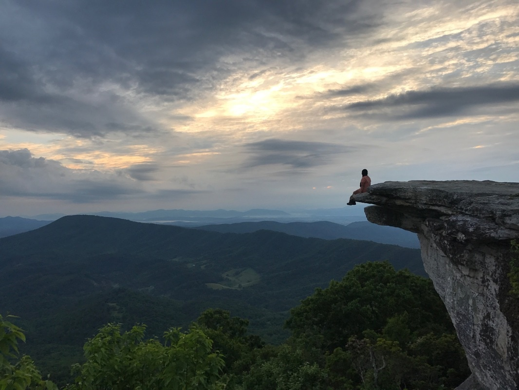 A Trail Family Reunion at McAfee Knob: Day 60